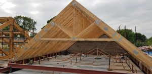Raised Tie Trusses